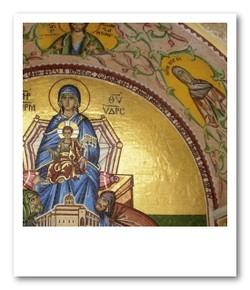 教会の壁画