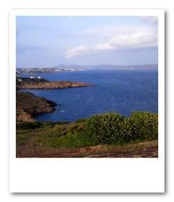 エーゲ海の青
