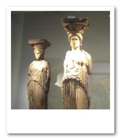 アクロポリス博物館にて