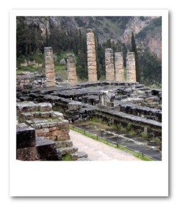 デルフィのアポロン神殿