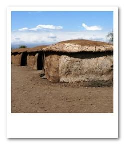 マサイの村