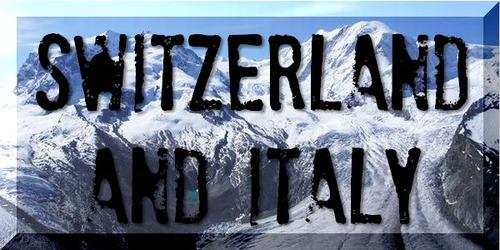 スイス・イタリア旅行記へGo!