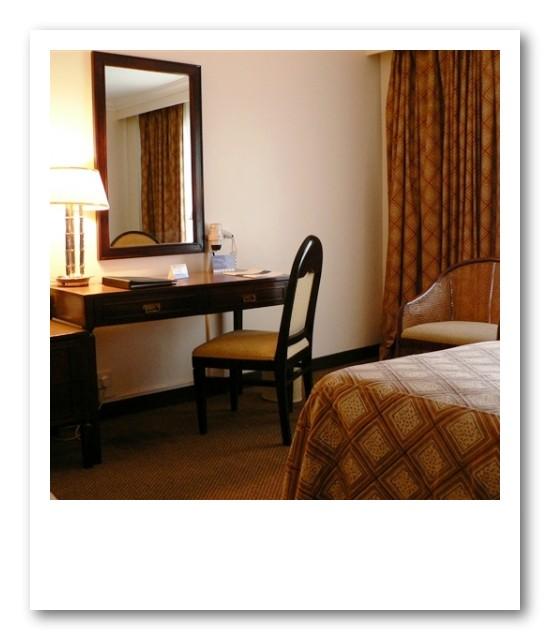 インターコンチネンタル、やっぱり部屋は広くてキレイ