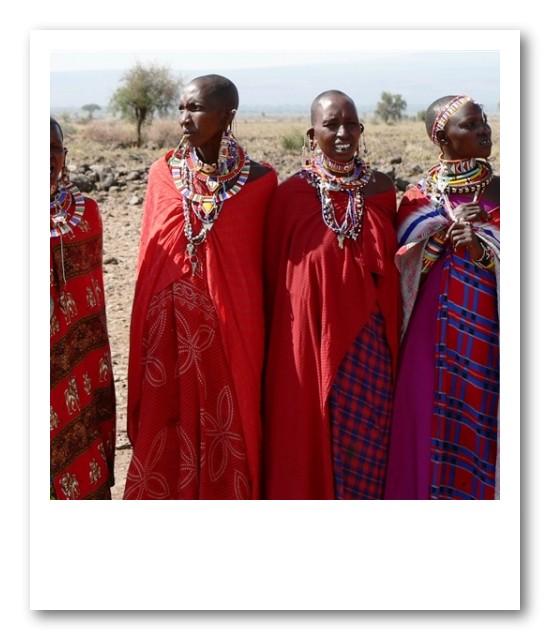 強くしなやかなマサイの女性たち