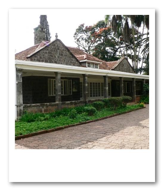 「アウトオブアフリカ」のカレンブリクセン博物館に連れてってもらいました